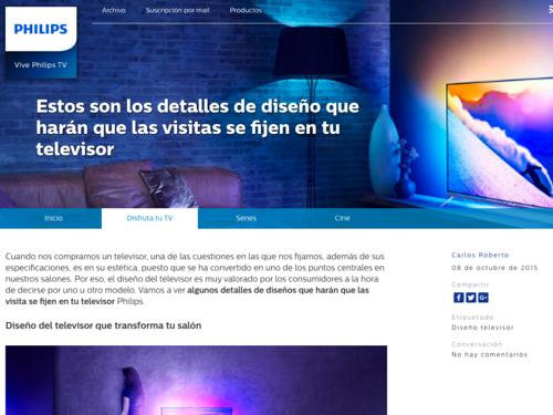 Vive Philips TV