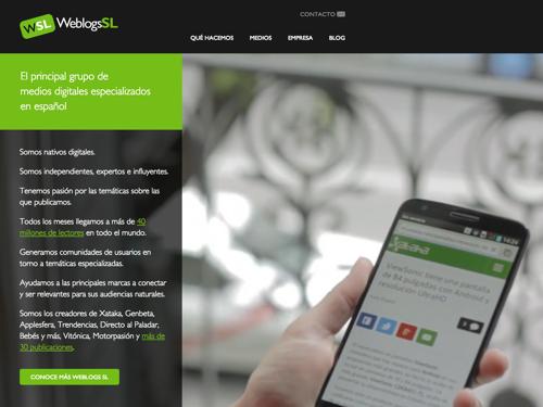 WeblogsSL website